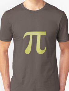 Lime Green Pi Symbol Unisex T-Shirt
