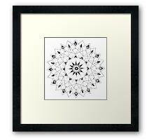 Spiro Graph Framed Print