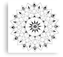 Spiro Graph Canvas Print