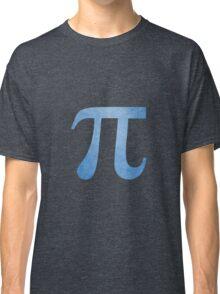 Blue Pi Symbol Classic T-Shirt
