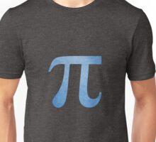 Blue Pi Symbol Unisex T-Shirt