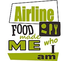 Airline Food Photographic Print