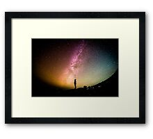 Spiral Jetty Framed Print