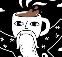 Joe the Coffee Wizard Sticker