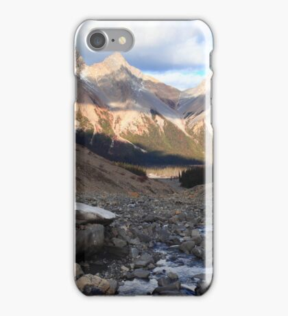 Three peaks view iPhone Case/Skin