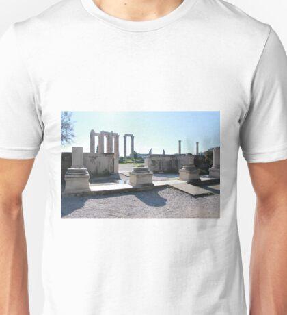 Zeus Temple - Athens Unisex T-Shirt