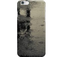 Are we just shouting at the pain?...or do we see just what we are?...We're naked in the rain iPhone Case/Skin