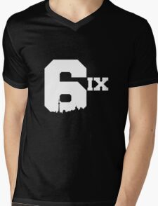 The 6ix Mens V-Neck T-Shirt