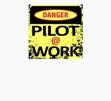 Pilot at Work Unisex T-Shirt