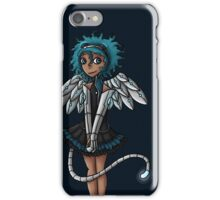 Blue Curls of the Sphinx iPhone Case/Skin