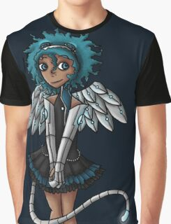 Blue Curls of the Sphinx Graphic T-Shirt