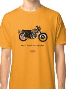 "HONDA CB750 FOUR ""GET A SUPERIORITY COMPLEX"" Classic T-Shirt"