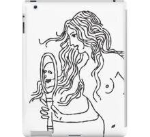 look in the mirror iPad Case/Skin