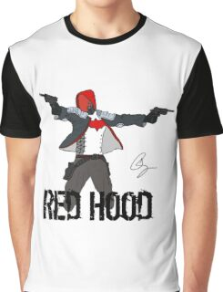 Arkham Knight Red Hood Graphic T-Shirt