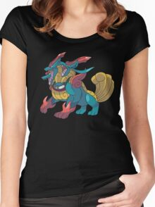 Charizard Pokemon Women's Fitted Scoop T-Shirt