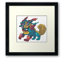 Charizard Pokemon Framed Print
