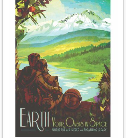 NASA Tourism - Earth Sticker