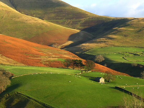 English Hills and Dales by Marilyn Harris