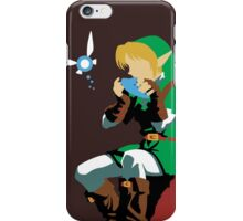 Link Playing Ocarina iPhone Case/Skin
