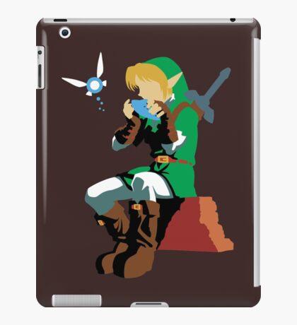 Link Playing Ocarina iPad Case/Skin