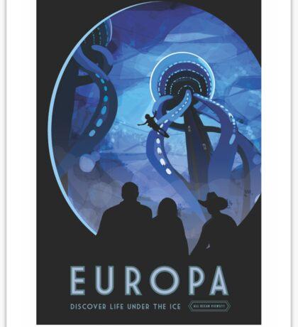 NASA Tourism - Europa Sticker