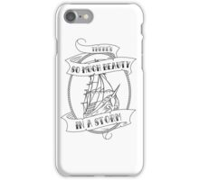 """There's So Much Beauty in a Storm"" La Dispute iPhone Case/Skin"