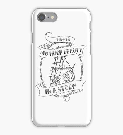 """""""There's So Much Beauty in a Storm"""" La Dispute iPhone Case/Skin"""