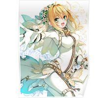 Asagi Toosaki - Saber Bride Poster