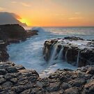 The Queens Bath - Kauai by Michael Treloar