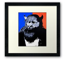 Rumble The Bison Framed Print