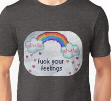 Fuck Your Feelings (Rainbow) Unisex T-Shirt