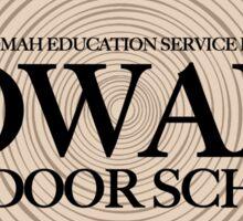 Howard Outdoor School (fcb) Sticker