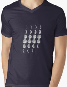 Just Like The Moon Mens V-Neck T-Shirt