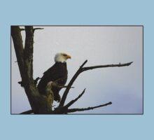 eagle striking a pose One Piece - Short Sleeve