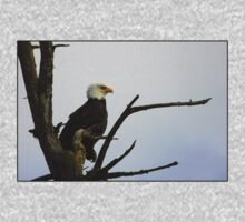 eagle striking a pose One Piece - Long Sleeve
