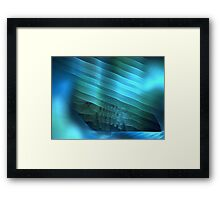 Ocean Shelf Framed Print