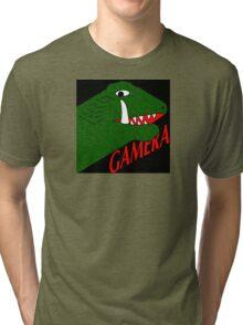 Gamera - Black Tri-blend T-Shirt