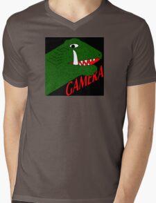 Gamera - Black Mens V-Neck T-Shirt