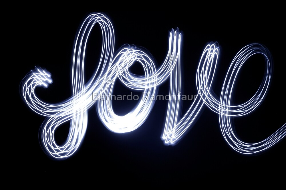Photograph word Love handwritte - bernardojbp   ello