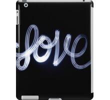 Love handwritten iPad Case/Skin