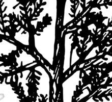 Tiny Pine Tree Sticker