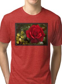 My Love is Like a Red, Red Rose... Tri-blend T-Shirt