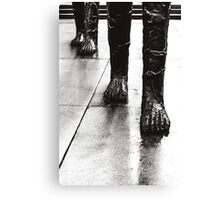 Approach Of The Giants Canvas Print