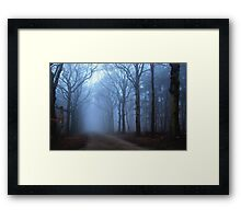 When we don't know where we are going Framed Print