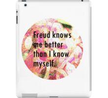 Freud knows me iPad Case/Skin
