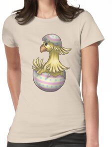 Easter Chocobo Womens Fitted T-Shirt