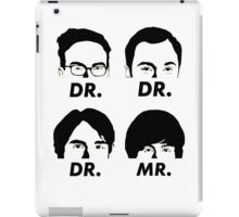 MR & DR iPad Case/Skin