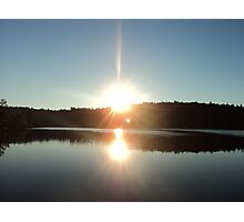 Shining Sun Photographic Print