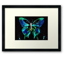 Spirit Butterfly Inversion Framed Print