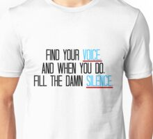 Grey's Anatomy - Meredith Quote Unisex T-Shirt